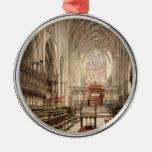 York Minster, York, Yorkshire, England Christmas Ornaments