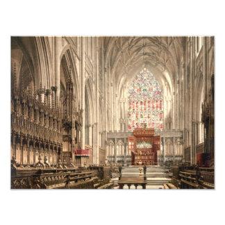 York Minster, York, Yorkshire, England Photo Print