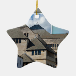 York Modern architecture out of bounds Ceramic Ornament