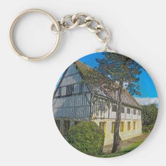 York,museum gardens,hospitium, plastic. keychain
