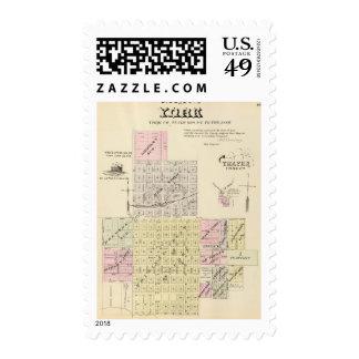York, Nebraska Postage