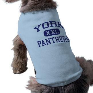York - Panthers - Junior - Thornton Colorado Dog Clothes