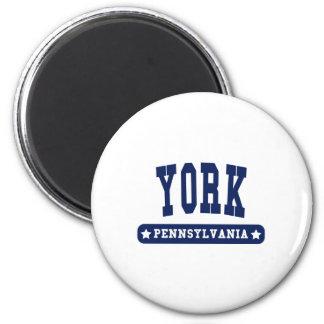 York Pennsylvania College Style tee shirts Refrigerator Magnet