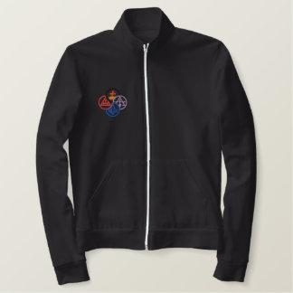 York Pinwheel Embroidered Jacket