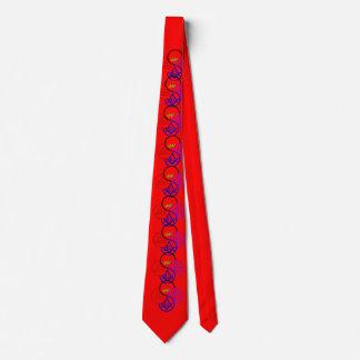 York Pinwheel Neck Tie