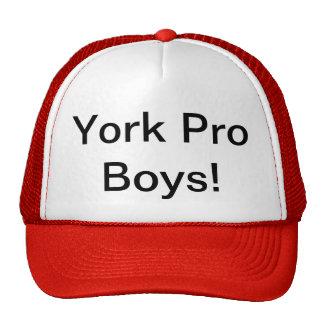 York Pro Boys! Capped hat