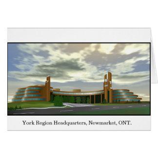York Region Headquarters Card