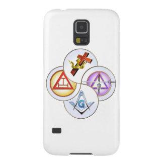 York Rite Digital Pinwheel Galaxy S5 Cases