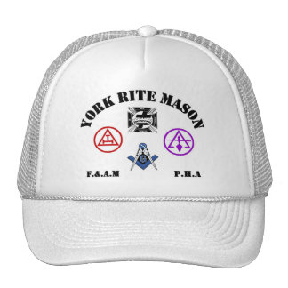 York Rite Hats