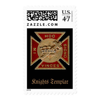 York Rite Knights Templar Commandery Stamps