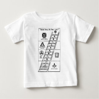 York Rite Ladder Baby T-Shirt