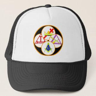 York Rite Mason Trucker Hat
