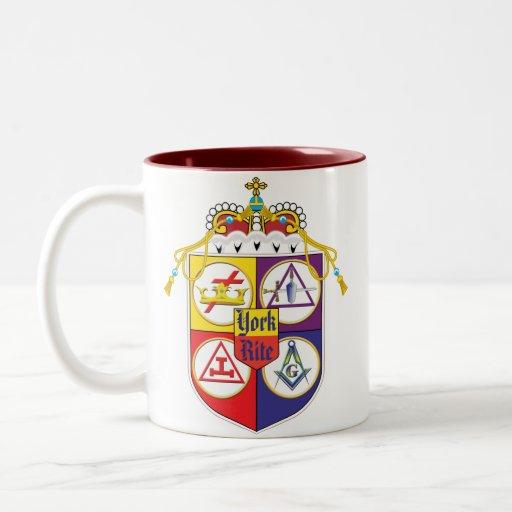 York Rite shield Coffee Mug