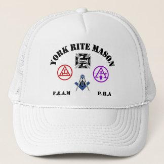 York Rite Trucker Hat