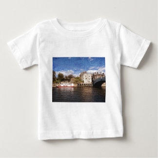 York river Ouse on texture Tee Shirts