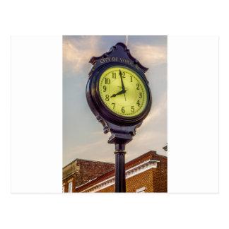 york south carolina white rose city historic count postcard