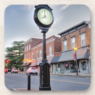 york south carolina white rose city small town cou beverage coaster