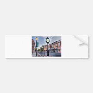 york south carolina white rose city small town cou bumper sticker