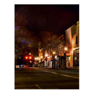 york south carolinawhite rose city christmas light postcard