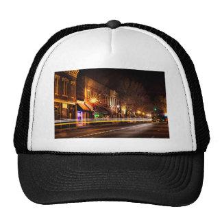 york south carolinawhite rose city christmas light trucker hat
