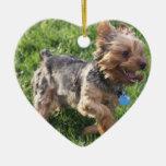York Terrier Dog Ornament