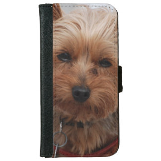 York Terrier Dog iPhone 6 Wallet Case