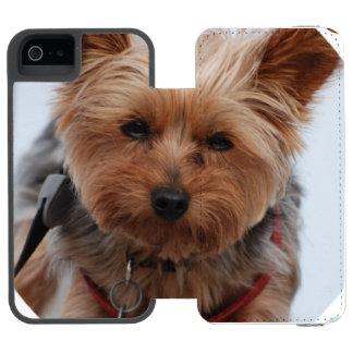 York Terrier Dog Incipio Watson™ iPhone 5 Wallet Case
