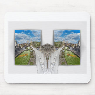 York. Toma doble Mouse Pads