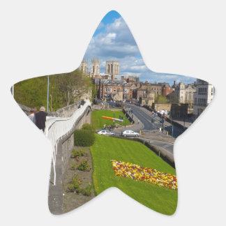 York walls minster star sticker