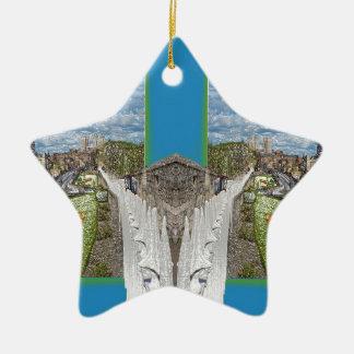 York Walls, the double take. Ceramic Ornament