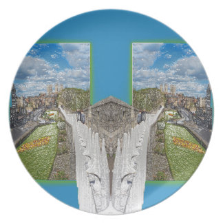 York Walls, the double take. Dinner Plate