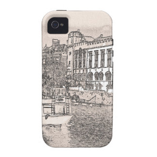 York with pencil and tint iPhone 4/4S case