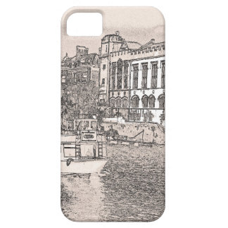 York with pencil and tint iPhone 5 cover