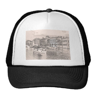 York with pencil and tint mesh hats