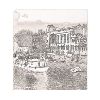 York with pencil and tint memo note pads