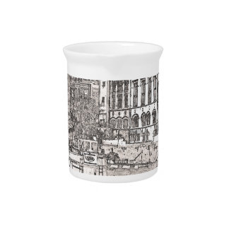 York with pencil and tint beverage pitchers