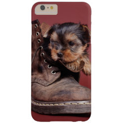 Case-Mate Barely There iPhone 6 Plus Case with Yorkshire Terrier Phone Cases design