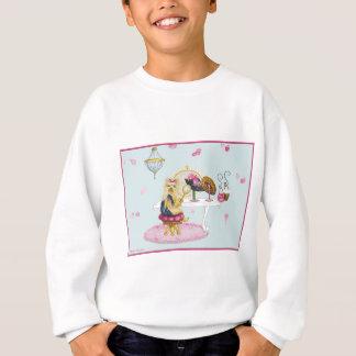 Yorkie Boudoir Sweatshirt