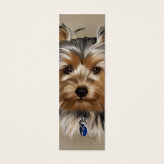 Yorkie Business Card