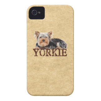 Yorkie Case-Mate iPhone 4 Cases