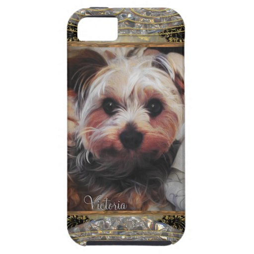 Yorkie Chilling or Insert Your Own Photo iPhone 5 Case