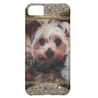 Yorkie Chilling or Insert Your Own Photo iPhone 5C Cover