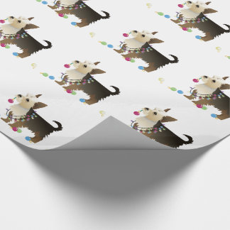 Yorkie Christmas Design Wrapping Paper