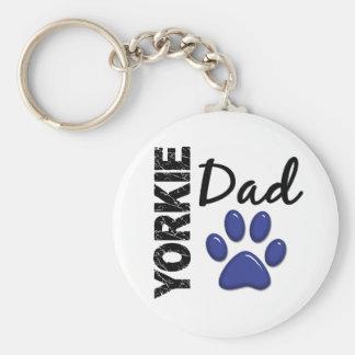 Yorkie Dad 2 Key Chain