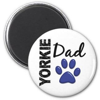 Yorkie Dad 2 Refrigerator Magnet
