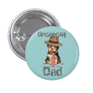 Yorkie Dad Pins