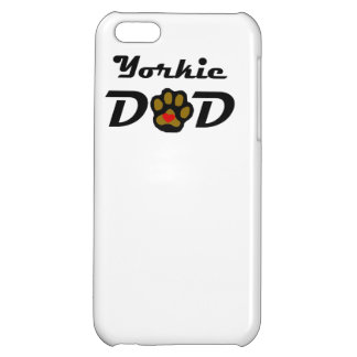 Yorkie Dad iPhone 5C Covers