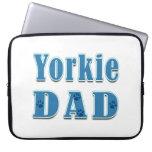 Yorkie Dad Laptop Computer Sleeve