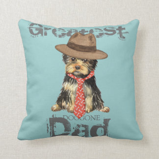 Yorkie Dad Pillow