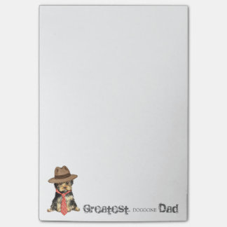 Yorkie Dad Post-it Notes